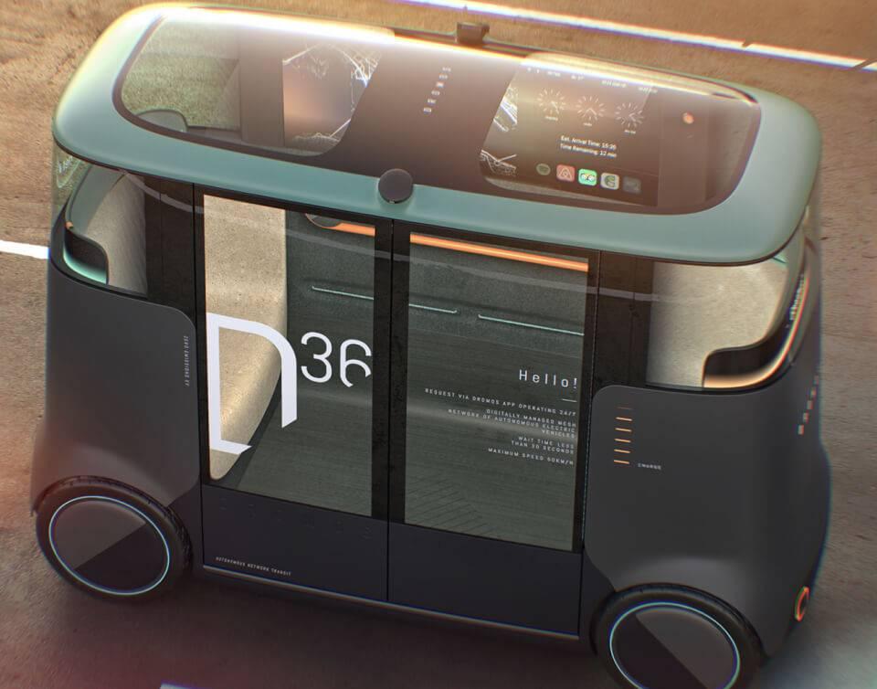 Overview of the Dromos autonomous vehicle